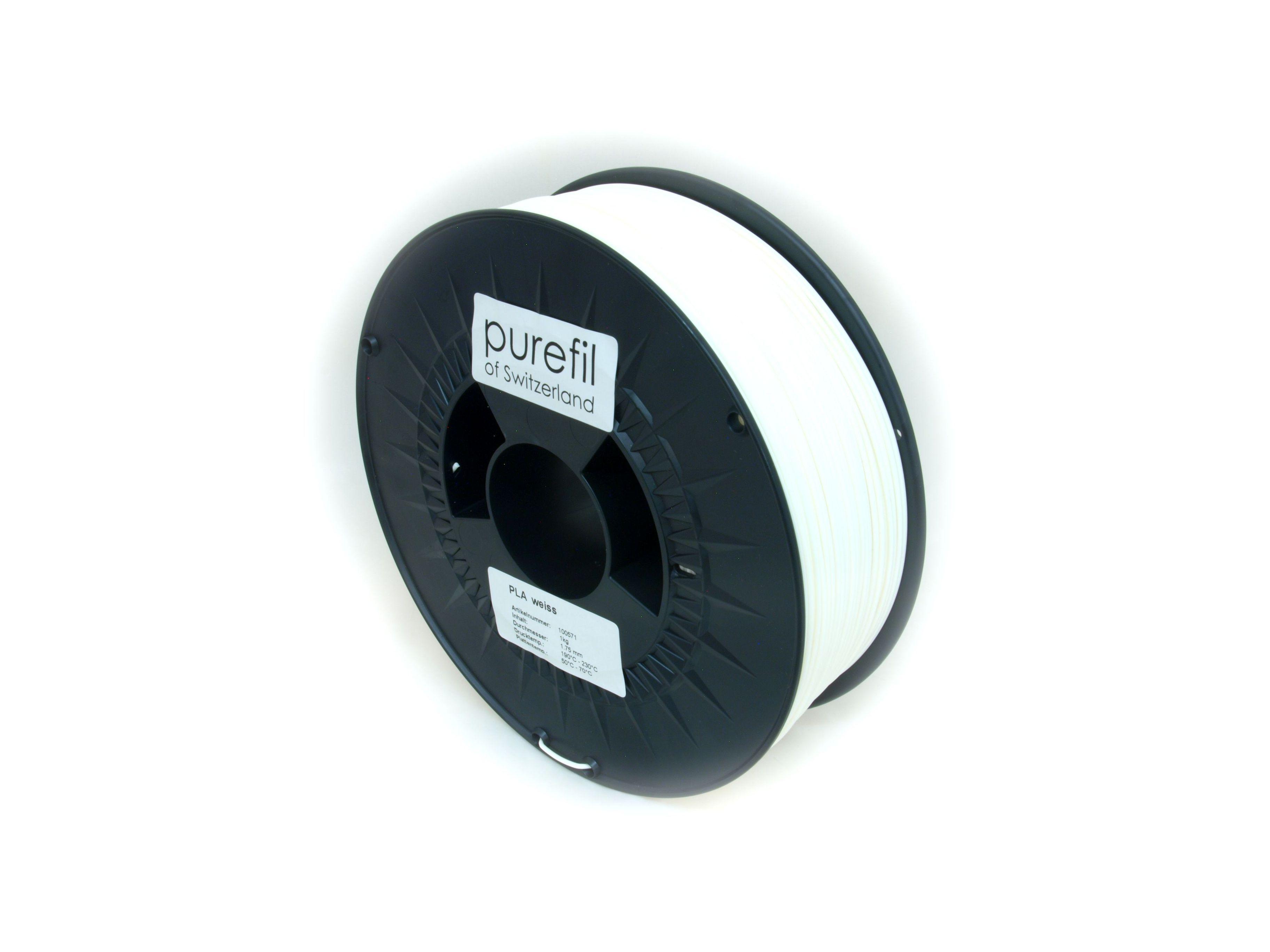 Purefil PLA Weiss 1Kg 1.75mm