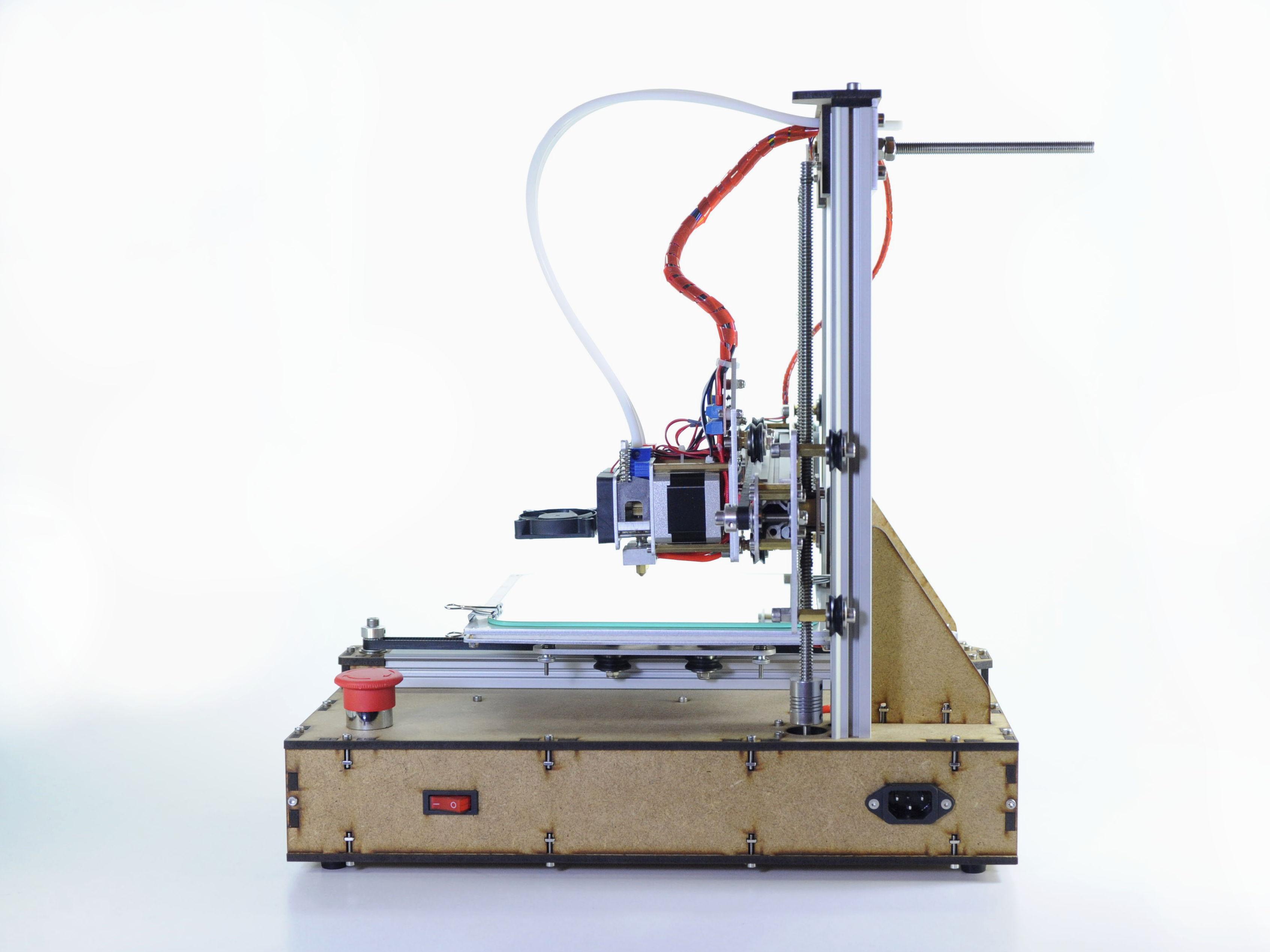 3D-Drucker Teilmachr 503d zusammengebaut