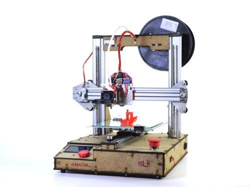 3D-Drucker Teilmachr 503e zusammengebaut