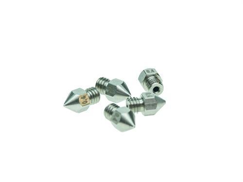 Ersatzteile 3D-Drucker Extruder Düse Chromstahl MK8-0.4mm