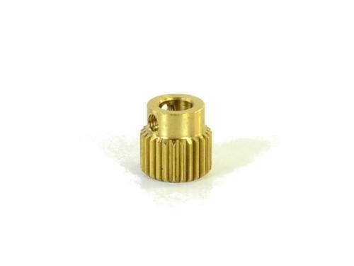 Ersatzteile 3D-Drucker Extruder Förderrad  Grob Messing