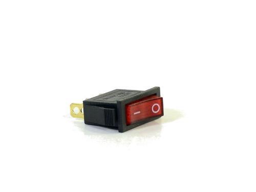 Ersatzteile elektrisch Geräteschalter Rot