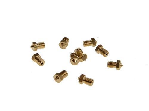 Ersatzteile 3D-Drucker Extruder Düse 0.2mm V6-0.2mm
