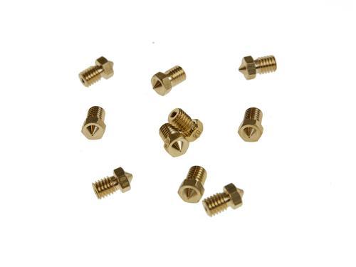 Ersatzteile 3D-Drucker Extruder Düse 0.5mm V6-0.5mm