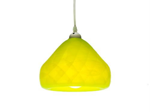 3D-gedruckte Lampen Schlumpf Octet Gelb