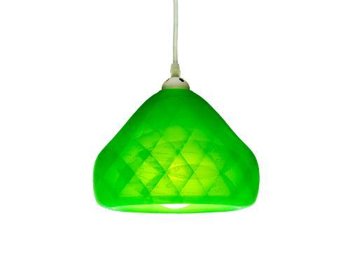 3D-gedruckte Lampen Schlumpf Octet Grün