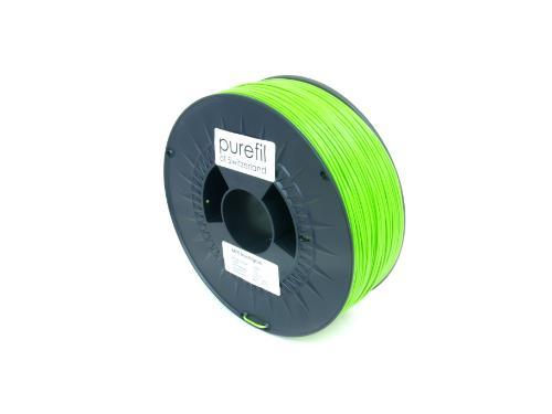 ABS Filament Purefil ABS Leuchtgrün 1Kg 1.75mm