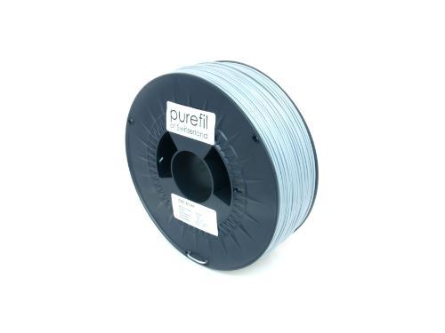 ABS Filament Purefil ABS Silber 1Kg 1.75mm