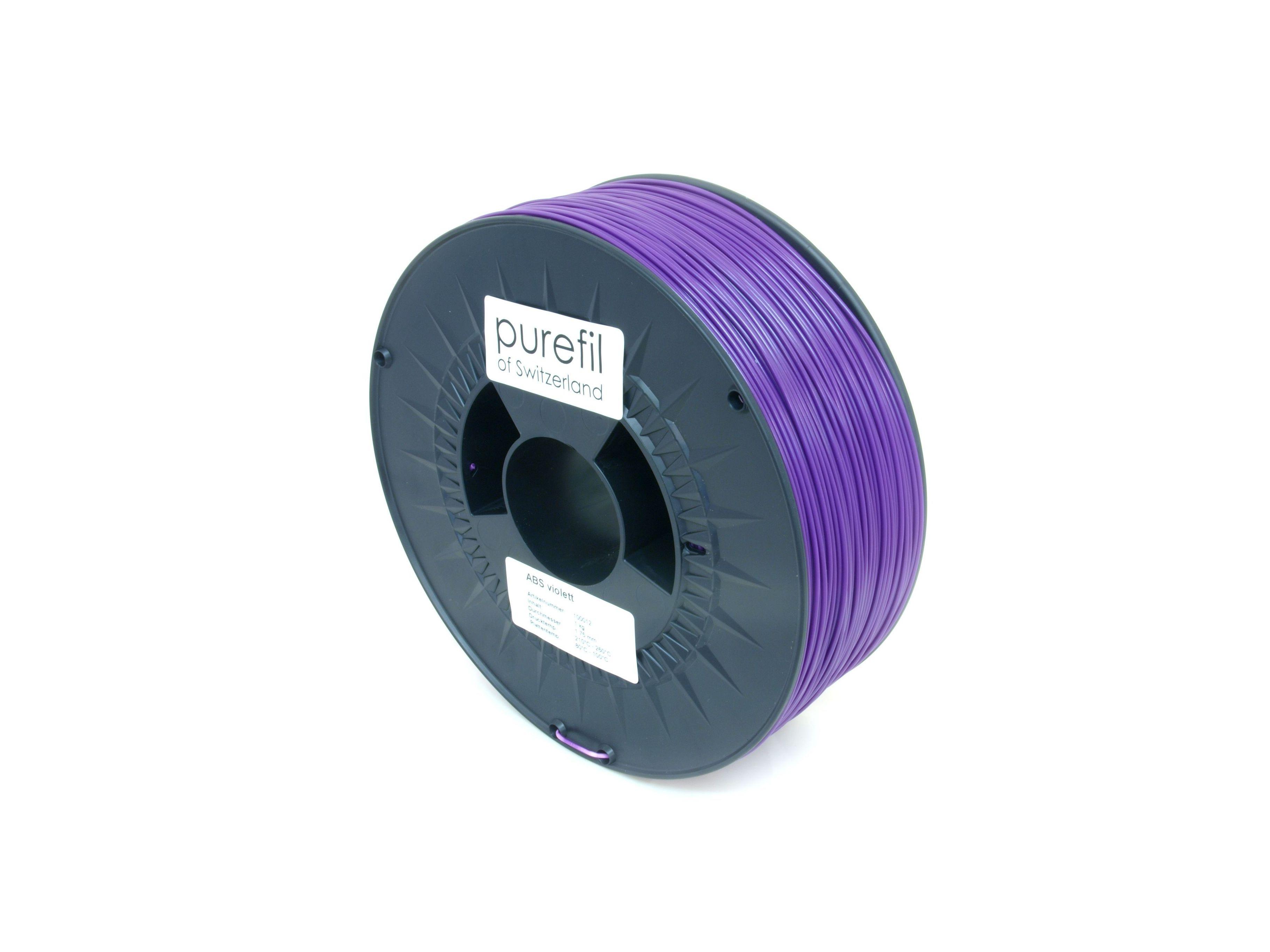 ABS Filament Purefil ABS Violett 1Kg 1.75mm