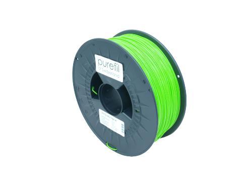 PETG Filament Purefil PETG Leuchtgrün 1Kg 1.75mm