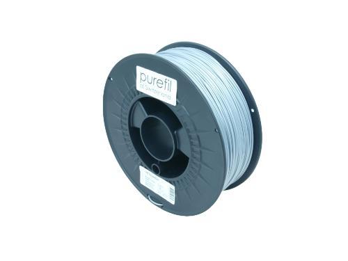 PETG Filament Purefil PETG Silber 1Kg 1.75mm