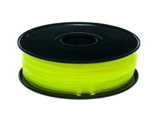 PLA Filament Transparent PLA Transparent Gelb 1Kg 1.75mm