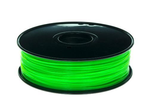 PLA Filament Transparent PLA Transparent Grün 1Kg 1.75mm