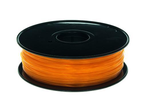PLA Filament Transparent PLA Transparent Orange 1Kg 1.75mm