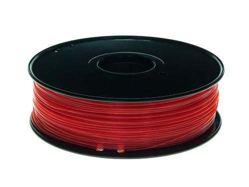 PLA Filament Transparent PLA Transparent Rot 1Kg 1.75mm