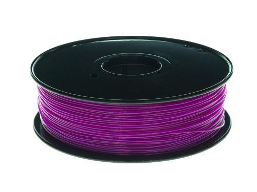 PLA Filament Transparent PLA Transparent Violett 1Kg 1.75mm