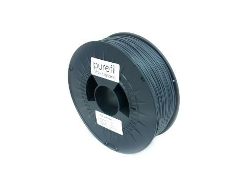 PLA Filament Purefil PLA Anthrazit 1Kg 1.75mm
