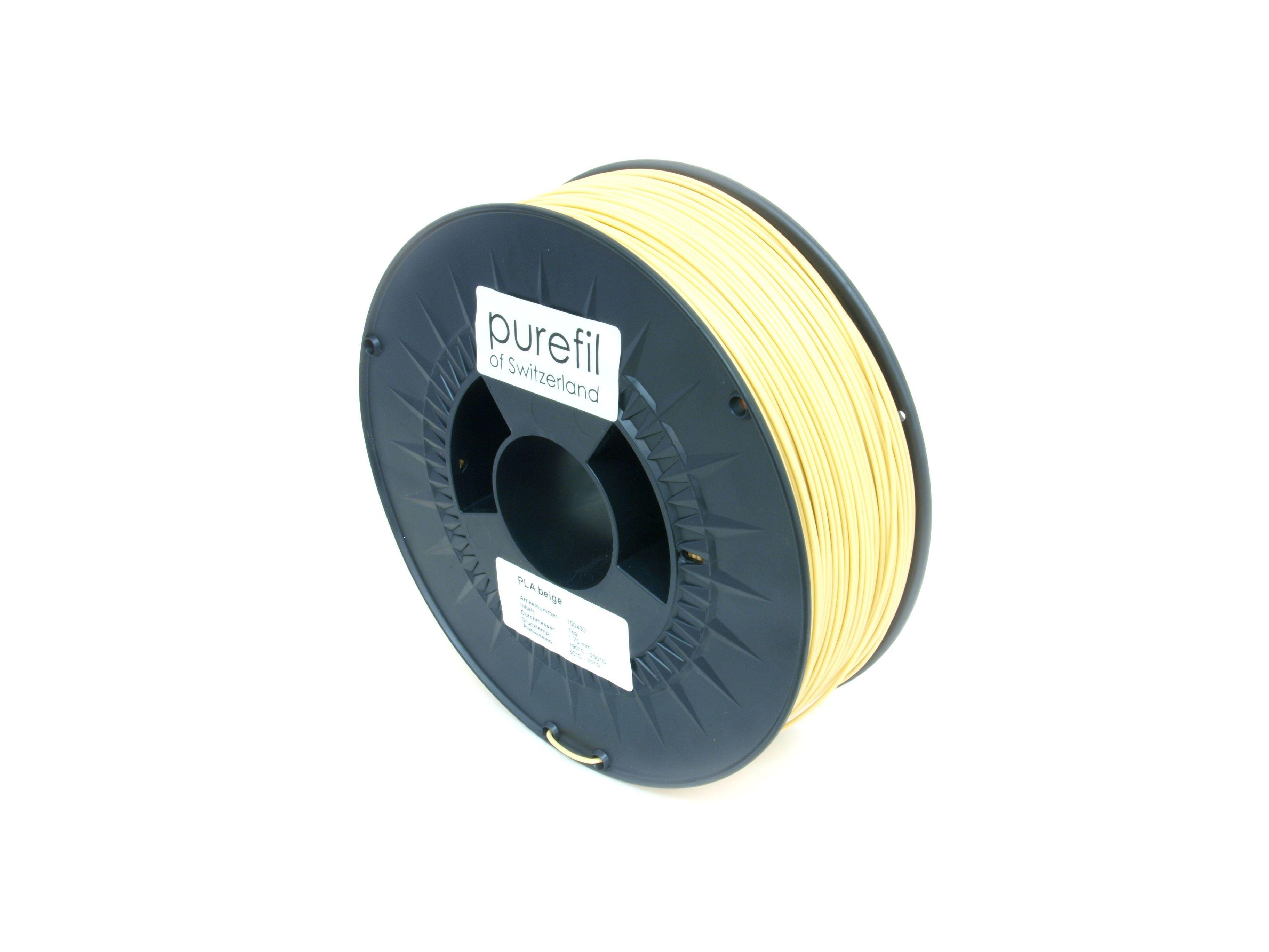 PLA Filament Purefil PLA Beige 1Kg 1.75mm