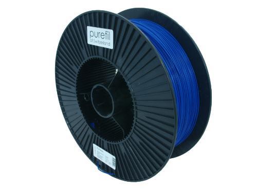 PLA Filament Purefil PLA Blau 2.5Kg 1.75mm