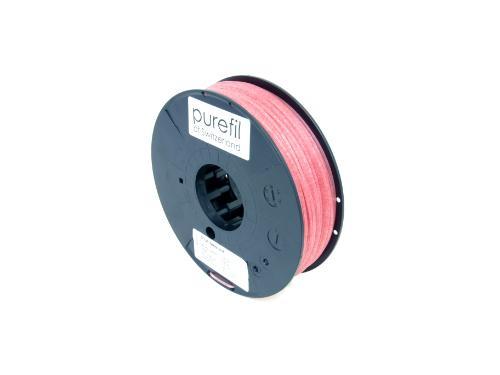 PLA Filament Purefil PLA Faserrot 0.35Kg 1.75mm