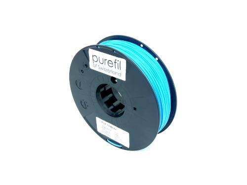 PLA Filament Purefil PLA Hellblau 0.35Kg 1.75mm