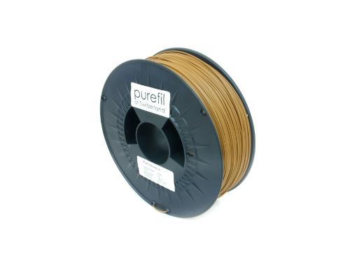 PLA Filament Purefil PLA Hellbraun 1Kg 1.75mm
