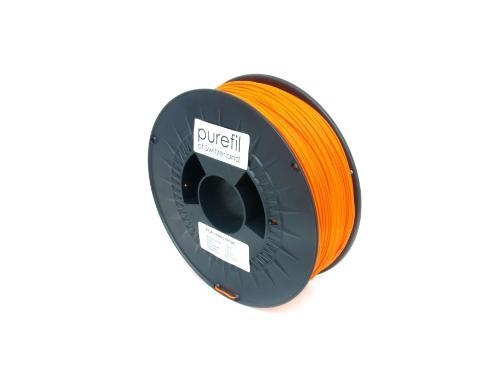 PLA Filament Purefil PLA Neonorange 1Kg 1.75mm