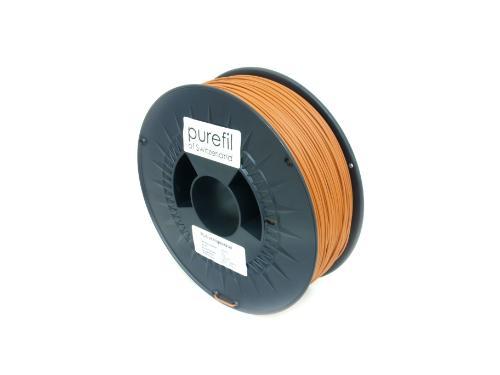 PLA Filament Purefil PLA Orangebraun 1Kg 1.75mm