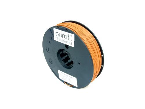 PLA Filament Purefil PLA Orangebraun 0.35Kg 1.75mm