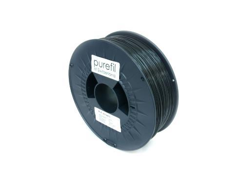PLA Filament Purefil PLA Schwarz 1Kg 1.75mm