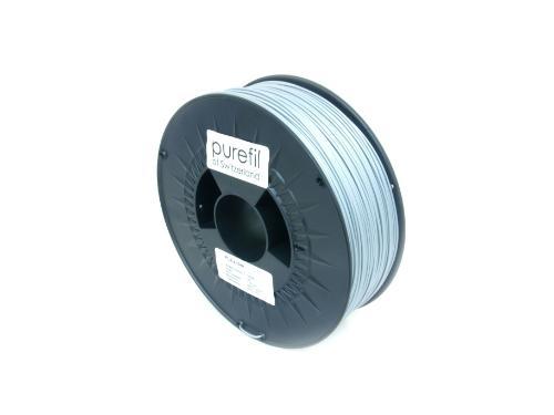 PLA Filament Purefil PLA Silber 1Kg 1.75mm