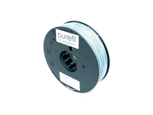 PLA Filament Purefil PLA Silber 0.35Kg 1.75mm