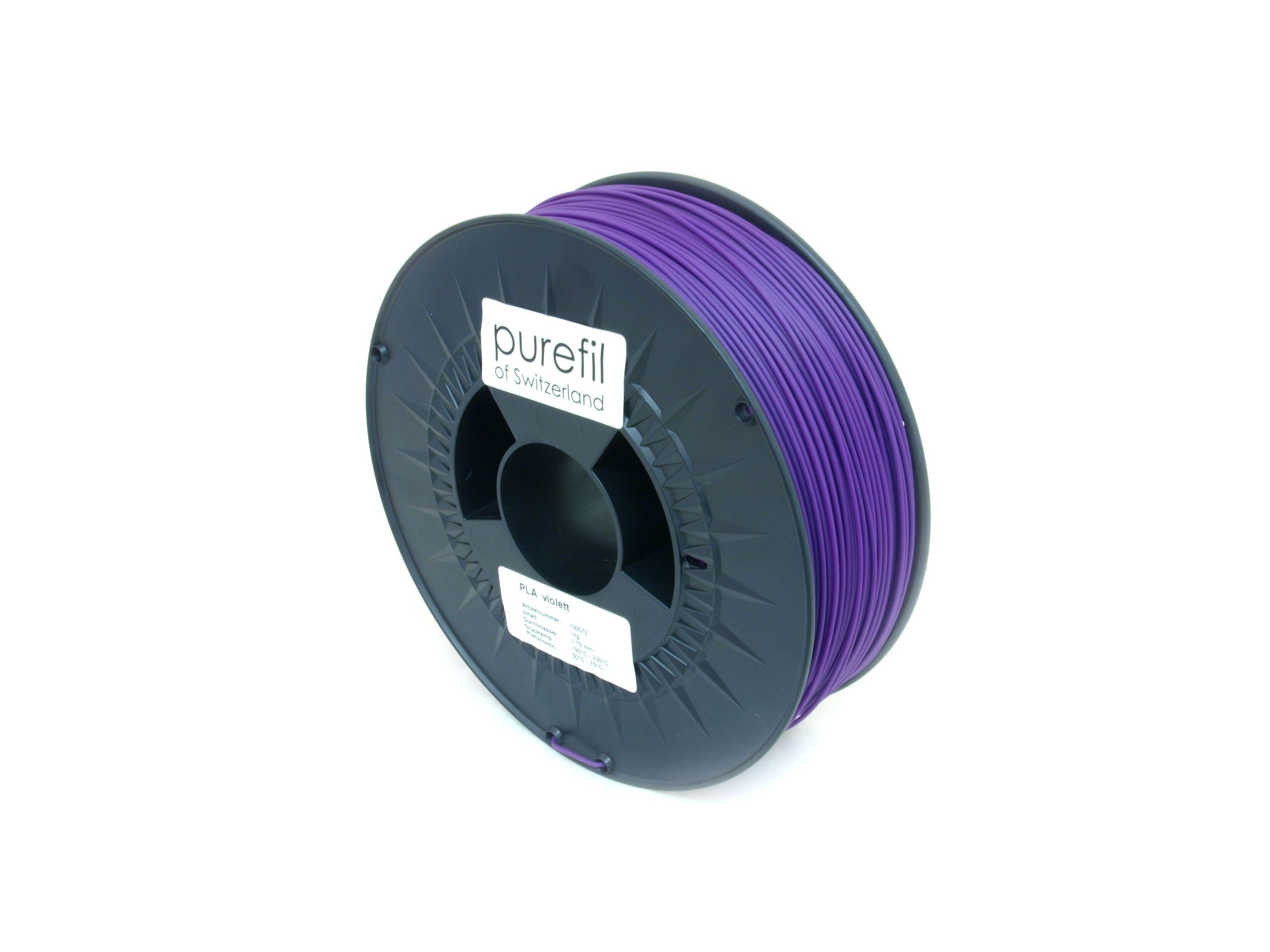 PLA Filament Purefil PLA Violett 1Kg 1.75mm