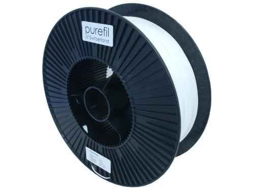 PLA Filament Purefil PLA Weiss 2.5Kg 1.75mm